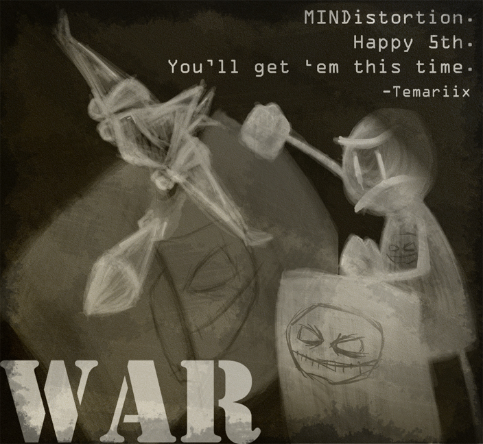 War MINDistortion